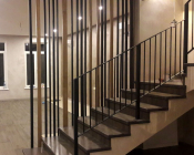 Перила для лестницы металлические